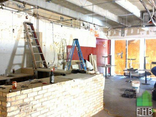 Commercial Construction – Restaurant Construction-1363