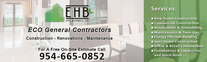 ECO General Contractor Fort Lauderdale